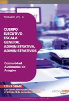 Cuerpo Ejecutivo Escala General Administrativa, Administrativos Comunidad Autonoma Aragon II