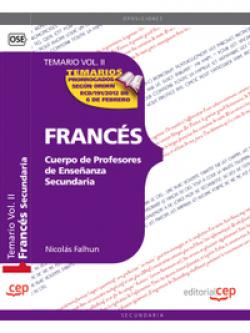 Cuerpo Profesores Enseñanza Secundaria Frances II