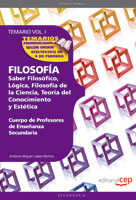 Cuerpo Profesores Enseñanza Secundaria Filosofia IV