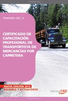 Certificado Capacitacion Profesional Transportista mercancias por Carretera II