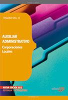 III.Auxiliar Administrativo Corporaciones Locales
