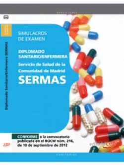 Diplomado Sanitario/Enfermera Servicio Salud Comunidad Madrid SERMAS Simulacros examen