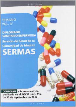 Diplomado Sanitario/Enfermera Servicio Salud Comunidad Madrid SERMAS IV