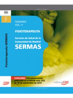 Fisioterapeuta Servicio Salud Comunidad Madrid SERMAS II