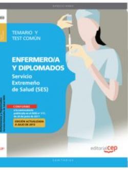 Enfermero/a y Diplomados Servicio Extremeño Salud y Test Comun
