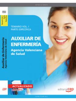 Auxiliar Enfermeria Agencia Valenciana Salud I Parte Especifica