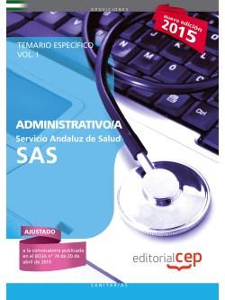 Administrativo Servicio Andaluz Salud)