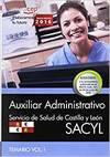 Auxiliar Administrativo. Servicio de Salud de Castilla y Leó
