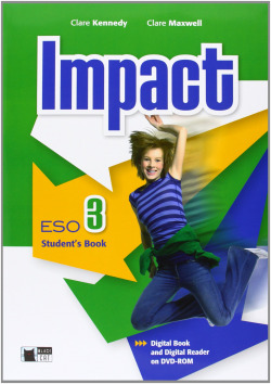 (12).IMPACT 3º.ESO (STUDENT'S + DVD)