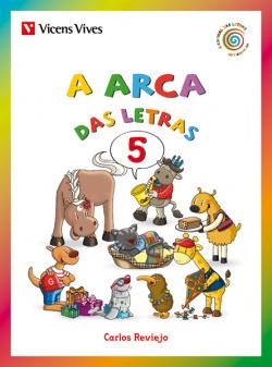 ARCA DAS LETRAS 5. CURSIVA: F, G, X, LL, Ñ, NH, K, W