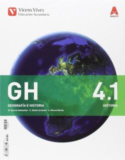(CM).(16).GEOGRAFIA HISTORIA 4ºESO (C.MANCHA)(+SEPARATA)