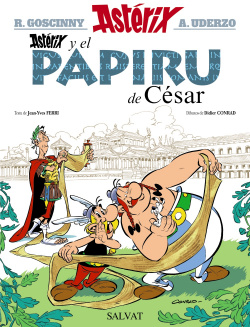 Asterix y el papiru de César