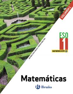 Generación B Matemáticas 1 ESO 3 volúmenes