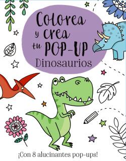 COLOREA Y CREA TU POP-UP DE DINOSAURIOS