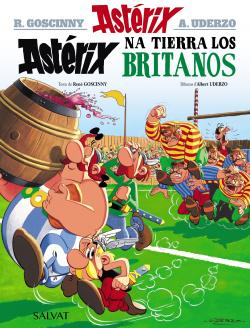 Astérix na tierra los britanos