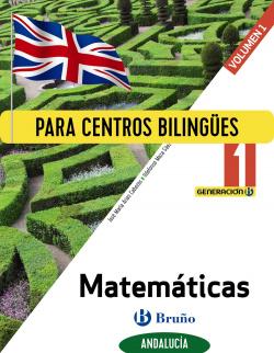 Generación B Matemáticas 1 ESO Andalucía 3 volúmenes