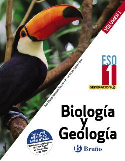 Generación B Biología y Geología 1 ESO 3 volúmenes
