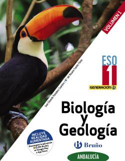 Generación B Biología y Geología 1 ESO Andalucía 3 volúmenes