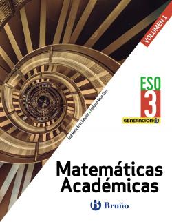 Generación B Matemáticas Académicas 3 ESO 3 volúmenes