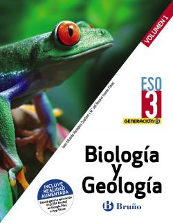 Generación B Biología y Geología 3 ESO 3 volúmenes