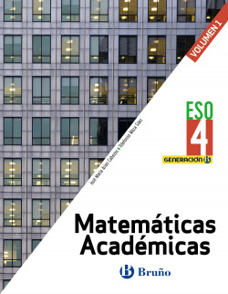 Generación B Matemáticas Académicas 4 ESO 3 volúmenes