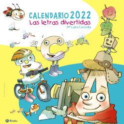 Calendario 2022. Las letras divertidas
