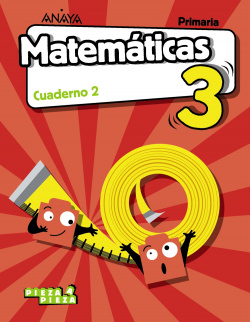 CUADERNO MATEMÁTICAS 2-3ºPRIMARIA. PIEZA A PIEZA. MADRID