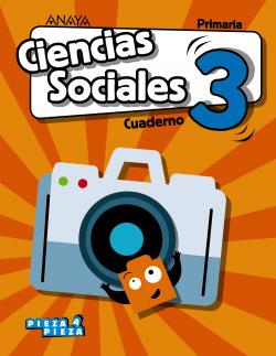 CUADERNO CIENCIAS SOCIALES 3ºPRIMARIA. PIEZA A PIEZA. CANTABRIA, CASTILLA LA MANCHA, CEUTA, LA RIOJA, MELILLA, NAVARRA