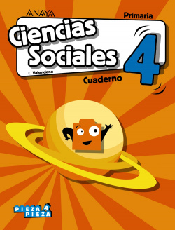 Ciencias Sociales 4. Cuaderno.