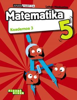 Matematika 5. Koadernoa 3.