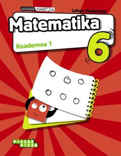 KOADERNOAK MATEMATIKA 1-6.LMH PIEZAROKA PIEZA. EUSKADI