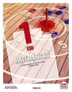 Matemáticas 1. (Trimestres - Colegios Bilingües)