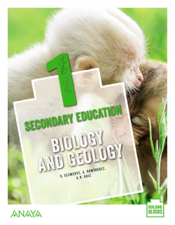 Biology and Geology 1. Student's Book + De cerca