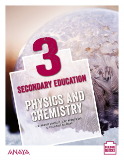 Physics and Chemistry 3. Student's Book + De cerca