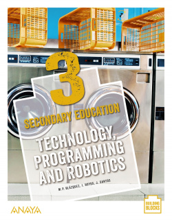 Technology, Programming and Robotics 3. Student's Book