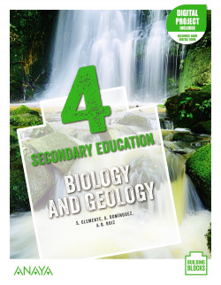Biology and Geology 4. Student's Book + De cerca