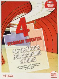 Pack Mathematics for Academic Studies 4. Student's Book + De cerca