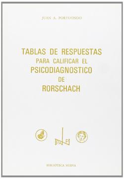 TABLAS DE RESPUESTAS PARA CALIFICAR EL PSICODIAGNOSTICO