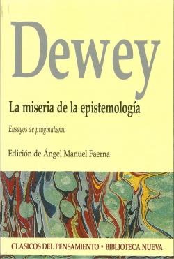 MISERIA DE LA EPISTEMOLOGIA,LA