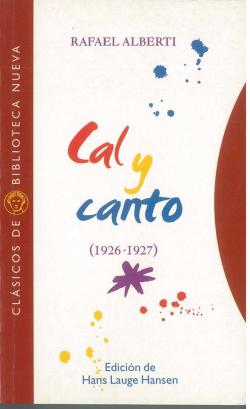 Cal y canto 1926-1927