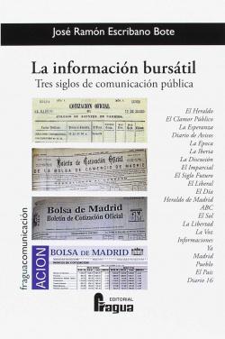 La información bursátil