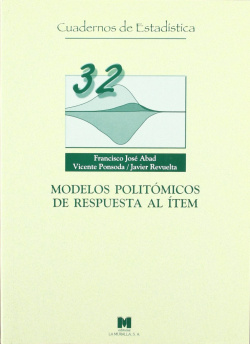 Modelos politómicos de respuesta al ítem.