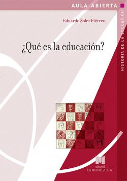 QU� ES LA EDUCACIÓN?