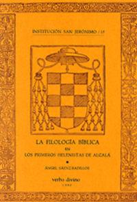 filologia biblica primeros helenistas Alcala