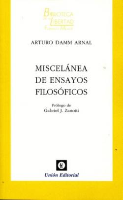Miscelanea de ensayos filosóficos