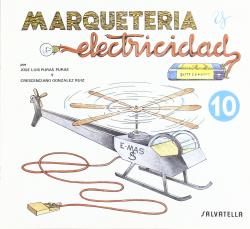 Marquetería y electricidad: helicóptero