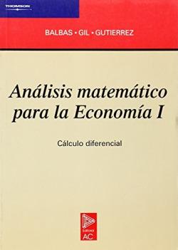 Análisis matemático para la Economía I