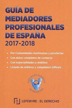 GUÍA DE MEDIADORES PROFESIONALES DE ESPAÑA 2017-2018