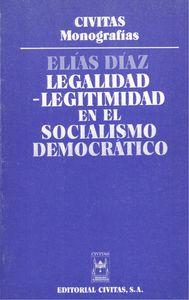Legalidad-legitimidad en el socialismo democrático