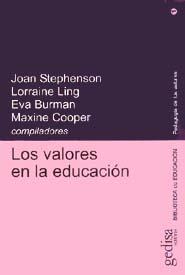 Valores En La Educación, Los